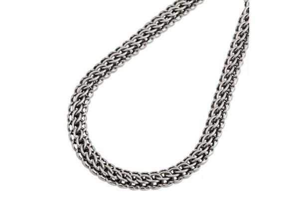 Серебряная цепь Фараон 80