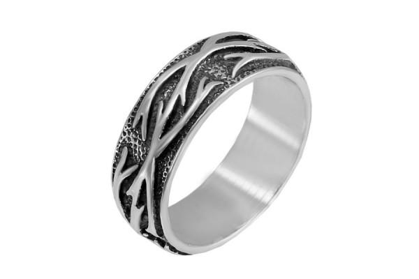 Кольцо из серебра 925 пробы Тату