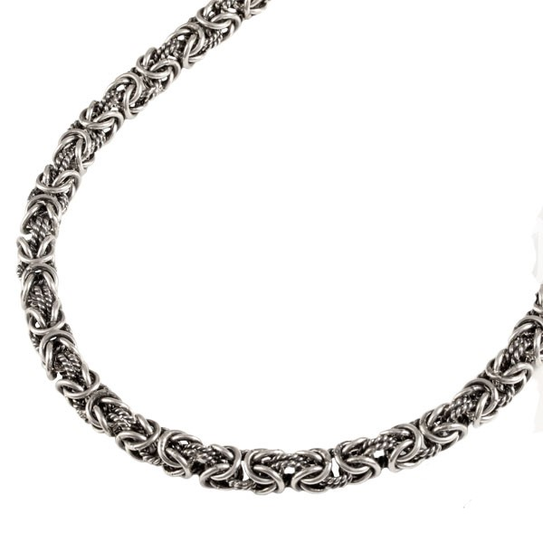 Серебряная цепь Квадратный Кардинал