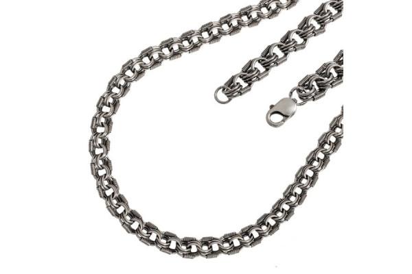 Серебряная цепь Королевская мантия
