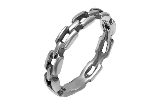 Кольцо из серебра 925 пробы  Цепь