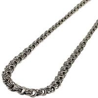 Серебряная цепь Роза (колье)
