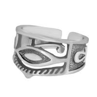 Серебряное кольцо Анх