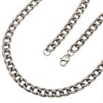 Серебряная цепь Панцирь 80