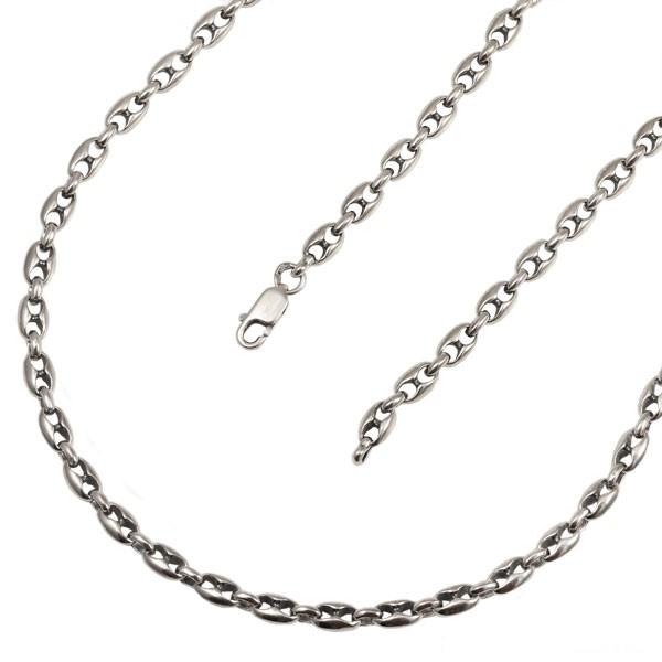Серебряная цепь Млечный Путь облегченная