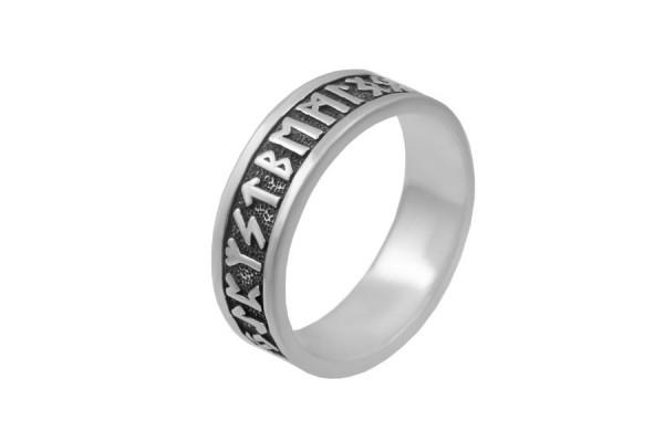 Серебряное кольцо Руны