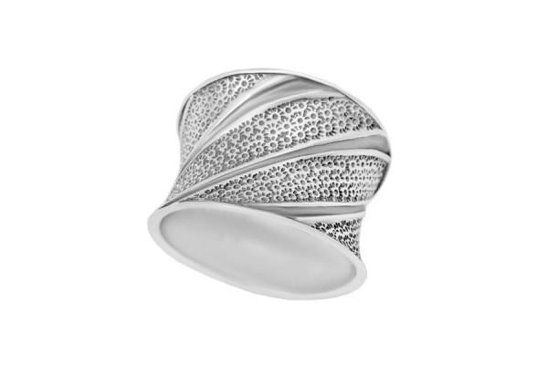 Серебряное кольцо Комета