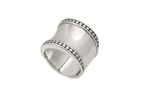 Серебряное кольцо Ожерелье