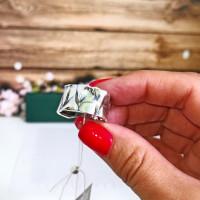 Серебряное кольцо Настроение