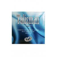 Салфетка из замши ТАЛИСМАН для полировки изделий из СЕРЕБРА, 10х10см.